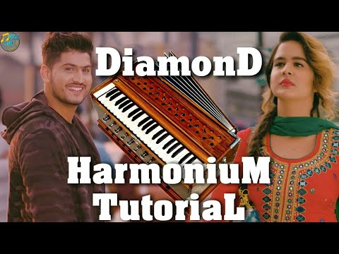 Diamond By Gurnam Bhullar Play On Harmonium 【Harmonium Tutorial】