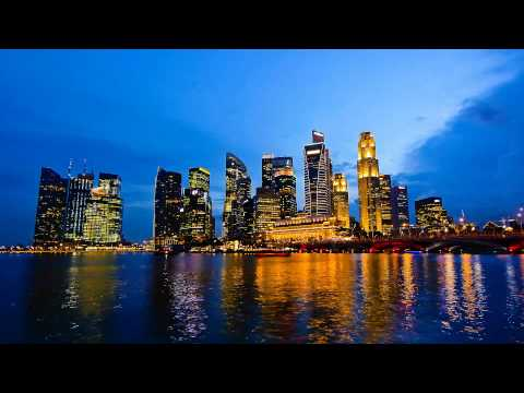 Singapore time-lapse: Magic Hour in the CBD [HD]