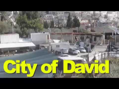 City of David, Jerusalem Israel - A tour of all the important sites.