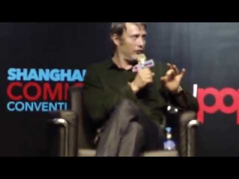 Mads Mikkelsen Q&A Day 1 @ Shanghai Comic Con SHCC 2015 (May 16, 2015)