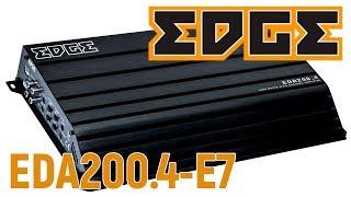 Обзор четырех-канального усилителя EDGE EDA200.4-E7.
