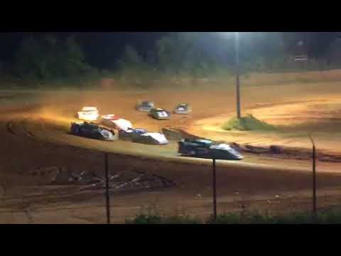 Contact during Late Model Sportsman Feature at Southern Raceway