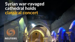 War-destroyed Syrian cathedral holds first recital in years