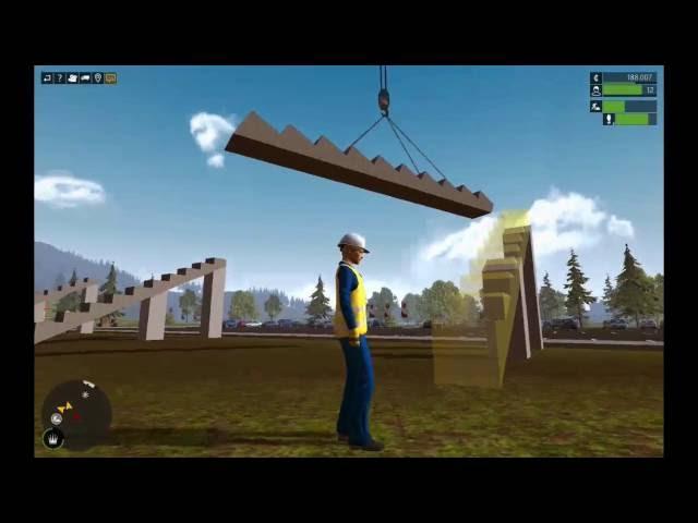 Let's Play Bau-Simulator 2015   Die Tribüne vom Stadion   Folge #018