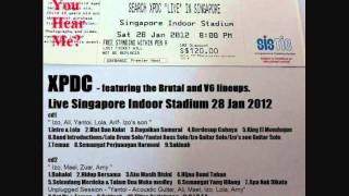 03 Bagaikan Samurai - XPDC live Singapore 28 Jan 2012 ( audio bootleg )