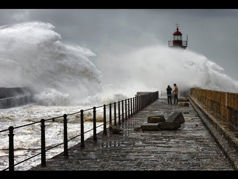 Storm In The Ocean | Big Storm Waves | Most Dangerous Storm In The Atlantic Ocean, Океан и Буря!