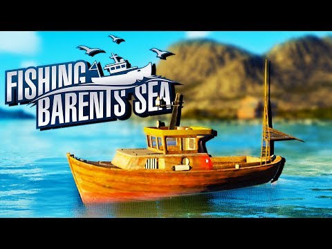 MY OWN FISHING BOAT! - Commercial Fishing Simulator - Fishing Barents Sea Gameplay