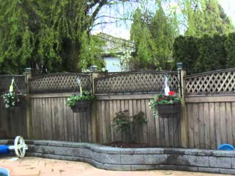 Fence Post Hanging Basket Hangers