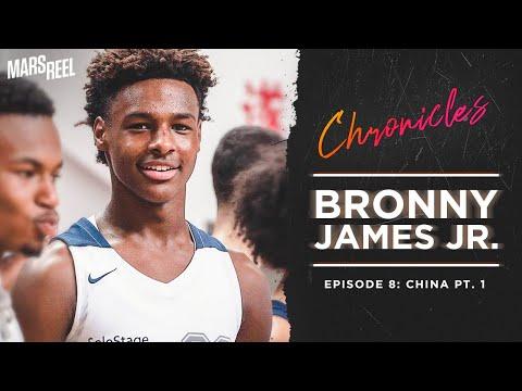BRONNY JAMES JR. | EP. 08 PT. 1 | Mars Reel Chronicles