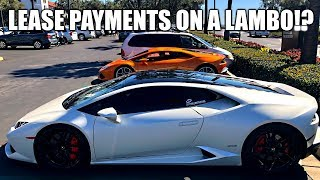 HOW MUCH DOES IT COST TO LEASE A LAMBORGHINI???