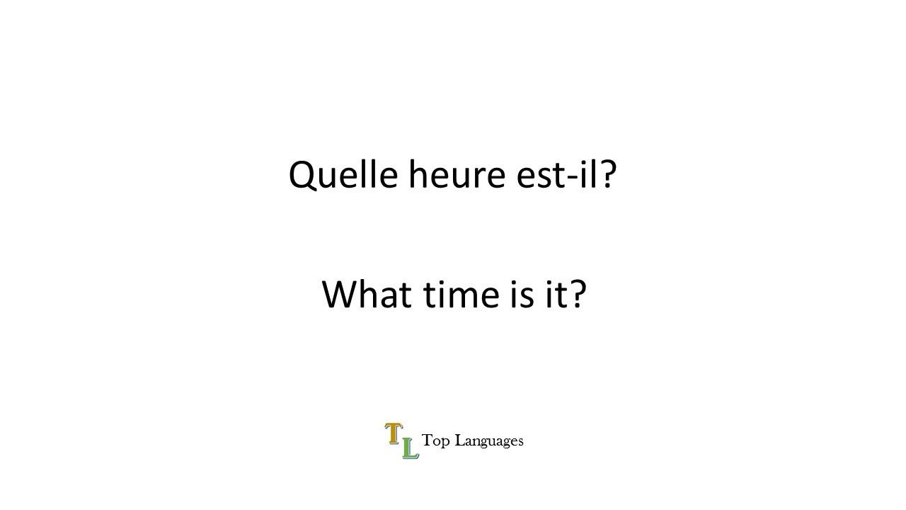 Learn English French, Apprendre Anglais Français; Basic ...