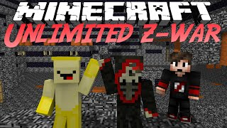 Oops Club Minecraft Unlimted Z-War - Tập 2: G3 Sấy Zombie !!