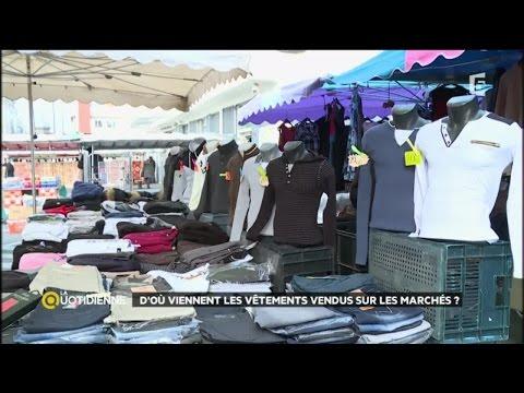 D'où viennent les vêtements vendus sur les marchés ?