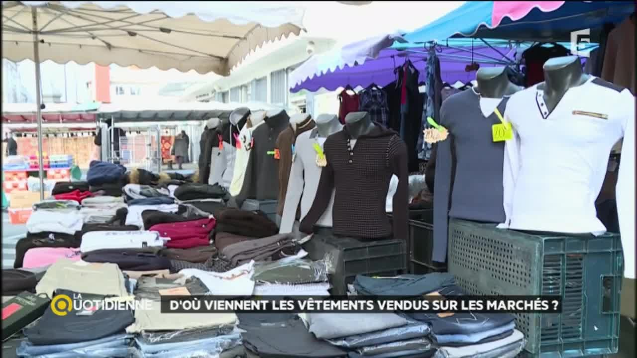 8ce196fb4a8 D où viennent les vêtements vendus sur les marchés   - YouTube