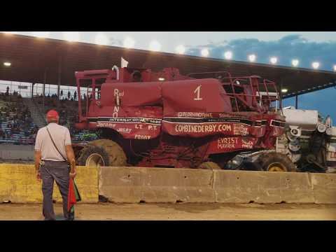 2017 Monroe County Fair Combine Derby - Final round
