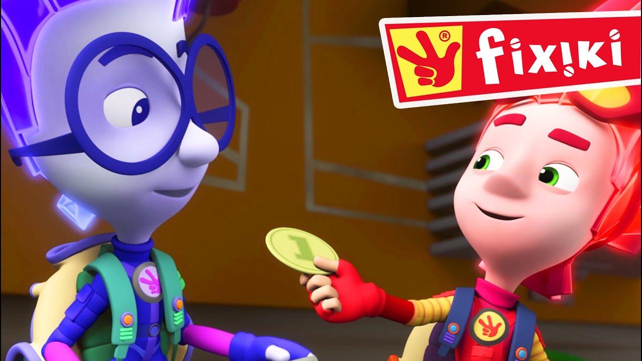 Fixiki -  Bani (Ep 119)  Desene animate dublate în română pentru copii
