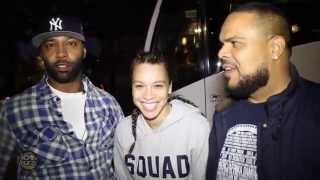 Joe Budden, Megan Ryte & DJ Enuff Face Their Fears At Pure Terror Scream Park