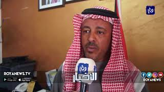 تجمع كميات كبيرة من الأمطار على جوانب الطرقات وهدرها بدل الاستفادة منها في محافظة الكرك