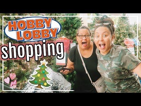 CHRISTMAS SHOP WITH ME 2019 | HOBBY LOBBY & HOMEGOODS CHRISTMAS DECOR | Page Danielle