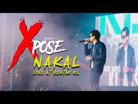Xpose - Nakal (Live at Rentak KL)