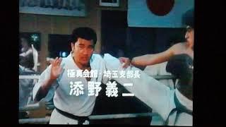 添野館長によるキックボクシングの細かなアドバイス.