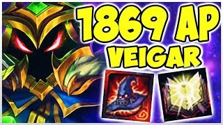 1869 AP & 25 KILLS VEIGAR! Noway4u Twitch Highlights (Deutsch/German) LoL