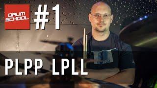 Drum School # 1 - Tomasz Łosowski - paradidle na zestawie perkusyjnym - lekcje gry na perkusji