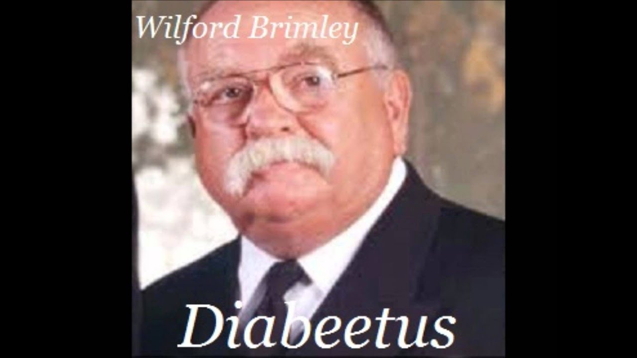 wilfred brimley diabetes youtube gracioso