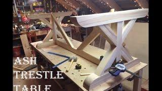 Ash Trestle Table