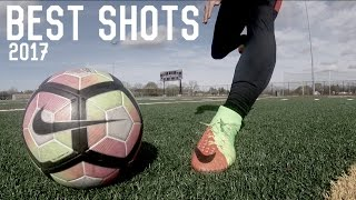 Best Shots Of 2017 | Shooting Practice | Free Kicks, Volleys, Knuckles and More