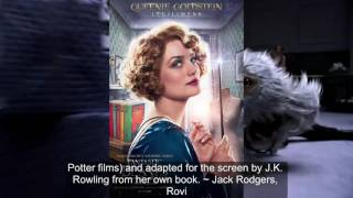 Film fantastic beasts and where to find them 18 november 2016