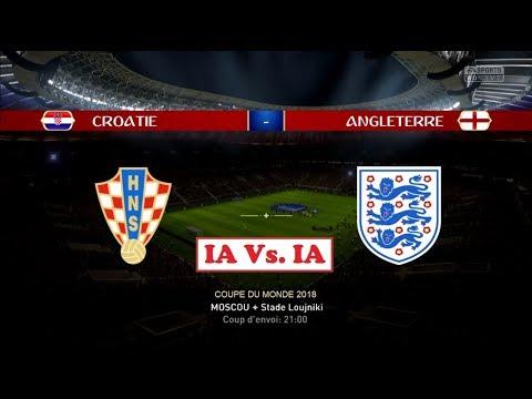 Croatie - Angleterre [FIFA 18 World Cup] | Coupe du Monde 2018 (Demi-Finale N°2) | IA Vs. IA