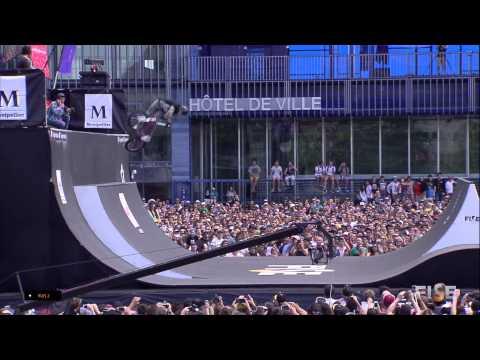 3rd Final BMX Spine - Mark Webb - FISE World Montpellier 2015