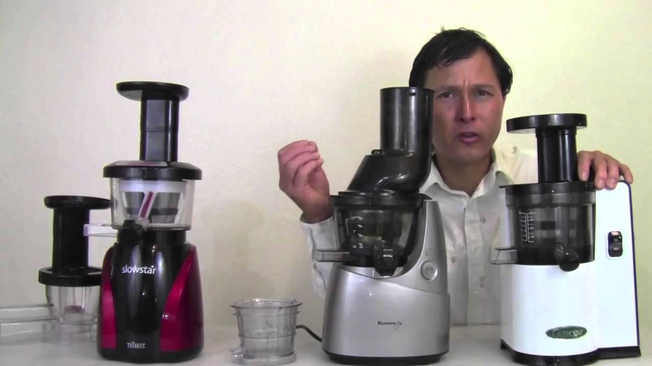 Top 3 Best vertical Cold Press Slow Juicers - YouTube