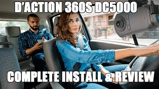 video thumbnail of How To Install a Dashcam - The New d'Action 360S DC5000