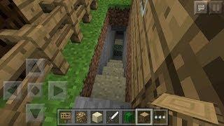【マインクラフトpe】隠し階段・自動ドアの作り方!【シグマの裏技屋敷】