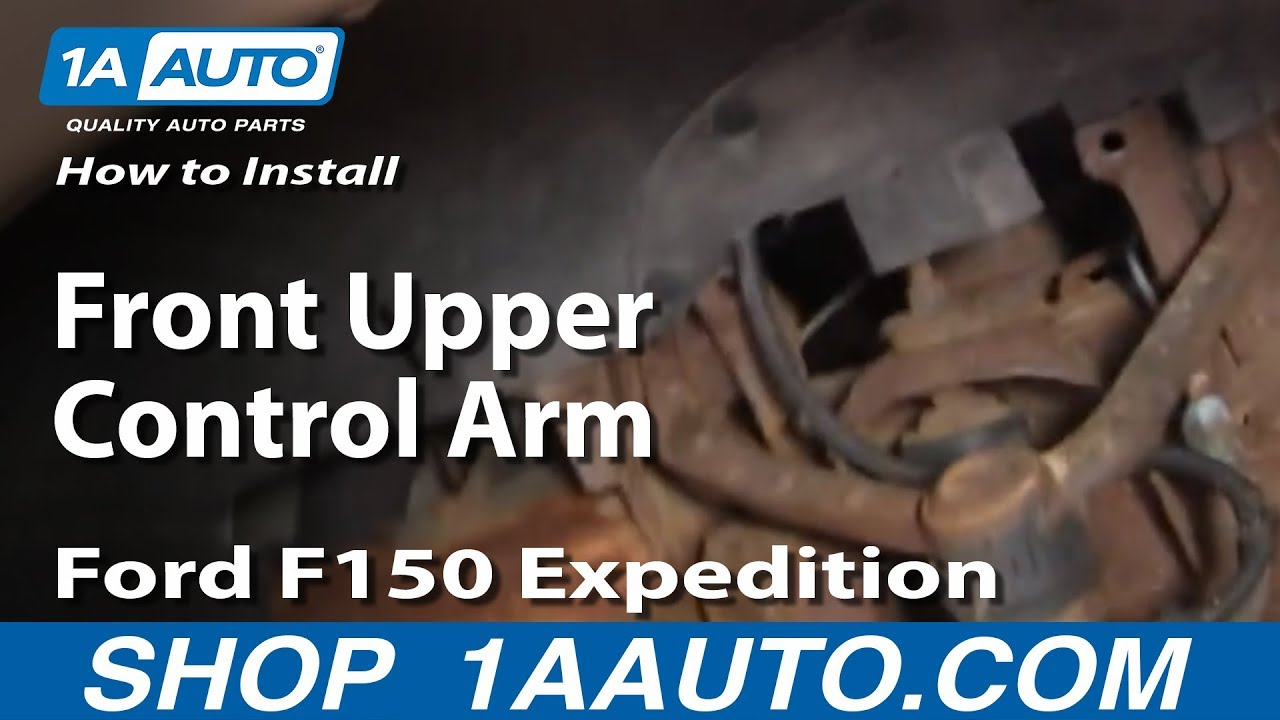 maxresdefault how to replace front upper control arm 97 02 ford expedition youtube