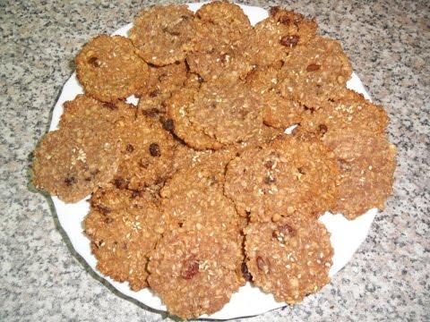 Рецепт: Овсяное печенье на