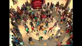 oberon mall cochin flash mob world heart day