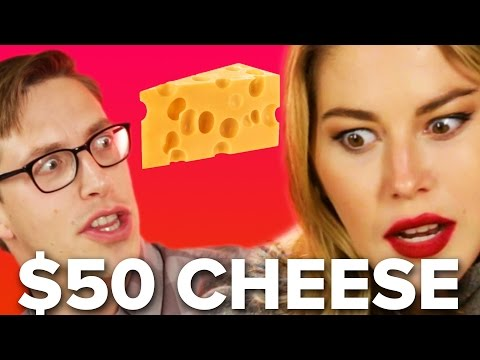 People Guess Cheap Vs. Expensive Cheese