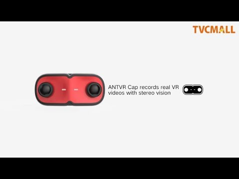 ANTVR 3D VR Camera 4K Sports & Action Camera IP68 Waterproof Dual Lens on  TVC-Mall com