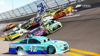Cal Weathers Crash! | Forza Motorsport 6 | NASCAR Expansion