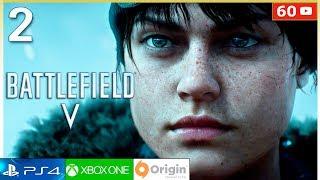 BATTLEFIELD 5 Campaña - Mision 2 Español Gameplay PC 60fps | Modo Historia Parte 2