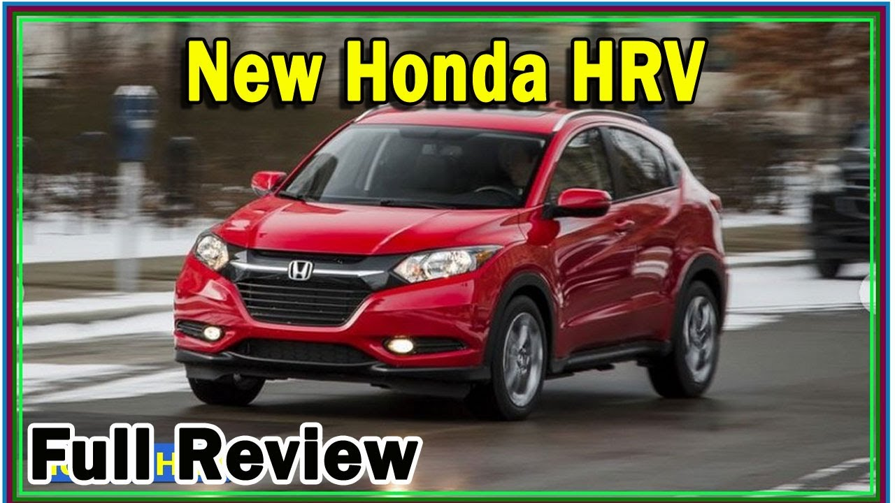Honda Hrv 2020 Review Honda Hrv Turbo 2020 Review Redesign