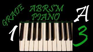 abrsm piano exam 2017 2018 grade 1 a3 la donna e mobile giuseppe verdi slow