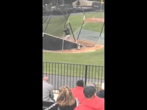 Tyler Trieste - Baseball Batting Practice - Cornwall Central High School NY -2016