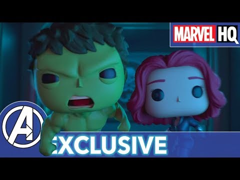 Marvel Funko Presents: Tick Tick Smash (starring Hulk & Black Widow) | EXCLUSIVE SHORT