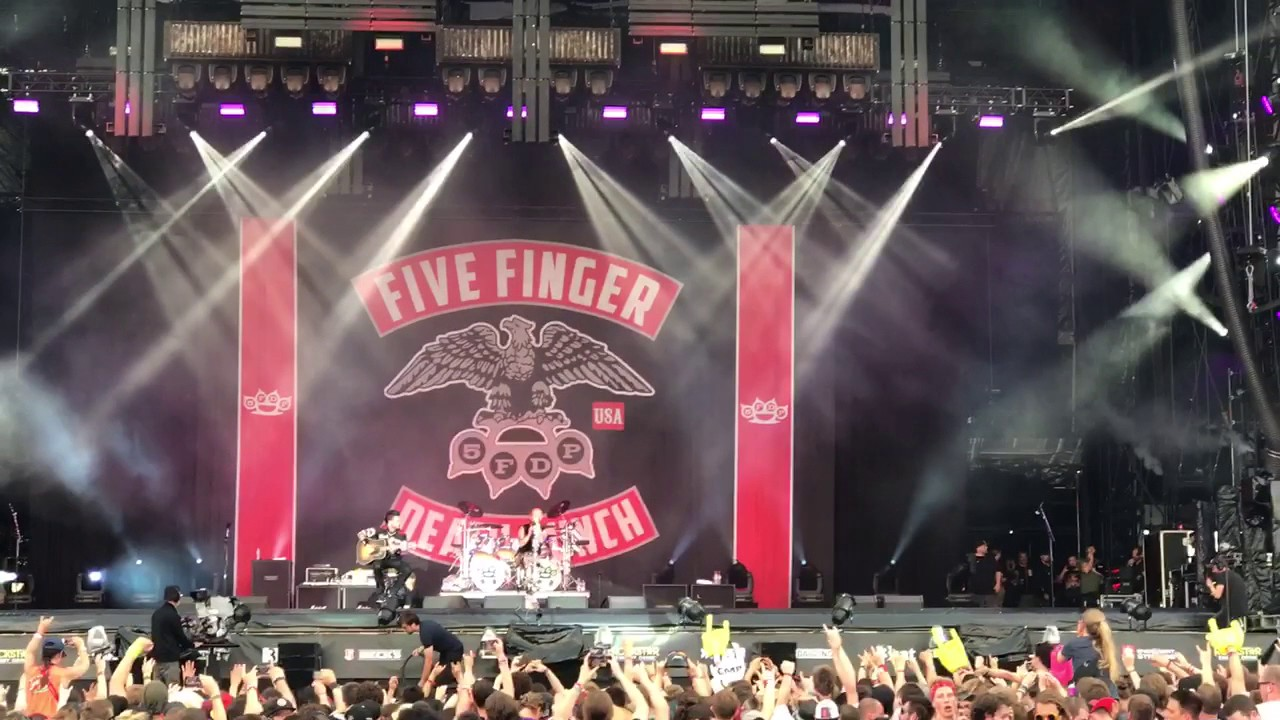 Five Finger Death Punch Rock Am Ring