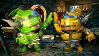 Super Dungeon Bros Official Launch Trailer | ESRB thumbnail