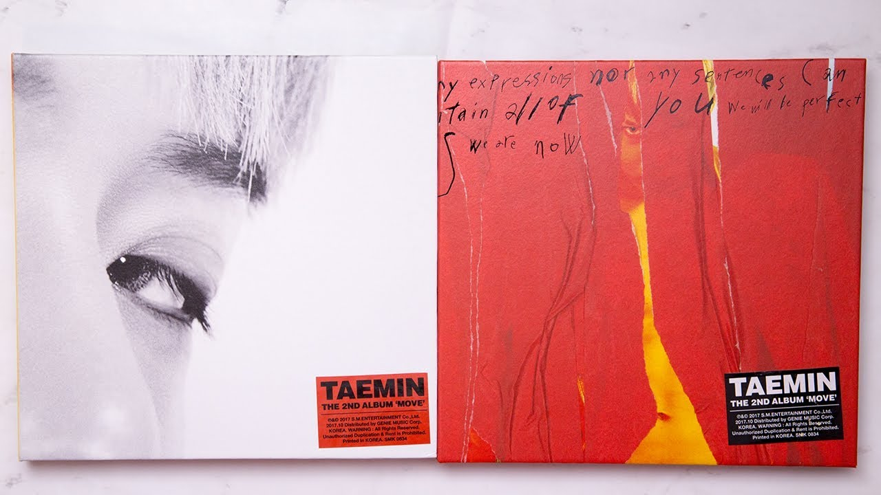 Unboxing | SHINee: Tae Min Vol  2 - MOVE (Wild + Mood Version)